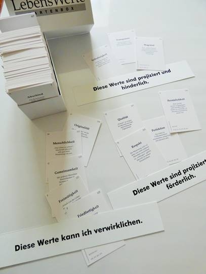 Lebenswerte Kartenbox