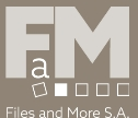 Logo Files and More S.A.