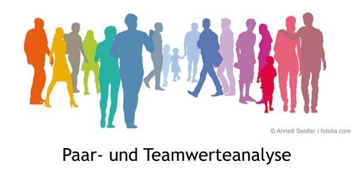 Paar- und Teamwerteanalyse